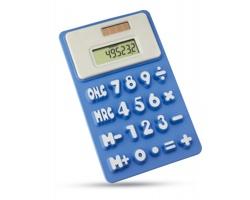 Solární kalkulačka TRUMAN - modrá
