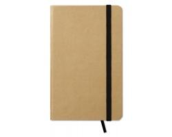 Recyklovaný zápisník NOWAY, formát A6 - černá
