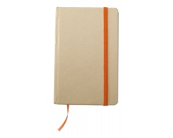 Recyklovaný zápisník NOWAY, formát A6 - oranžová
