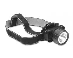 Směrovatelná LED čelovka THORA - černá
