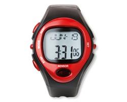 Digitální sportovní hodinky BOOKER - červená