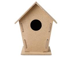 Dřevěná ptačí budka OSKAR - hnědá (dřevo)