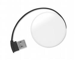 USB hub WHIES se 4 porty - černá