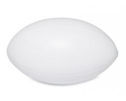 Antistresový ragby míč WIGWA - bílá