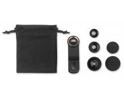 Sada objektivů VIEWS pro mobilní telefon - černá