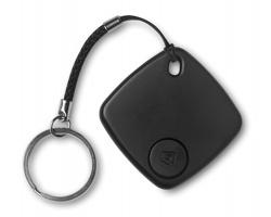Plastový hledač klíčů HOVE pro připojení k chytrému telefonu - černá