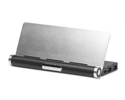 Powerbanka a stojan na tablet CASSEY - černá