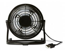 USB větráček WIND - černá