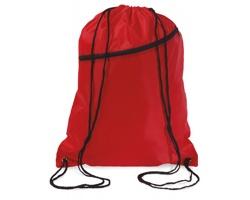 Velký batoh se šňůrkami LAWN - červená