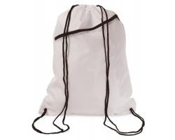 Velký batoh se šňůrkami LAWN - bílá