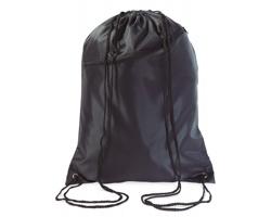 Velký batoh se šňůrkami LAWN - černá