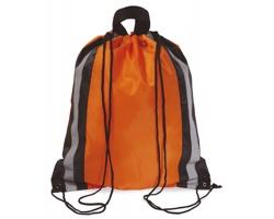 Reflexní batoh MAYAS se šňůrkami - oranžová