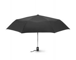 Skládací automatický deštník DADO - černá