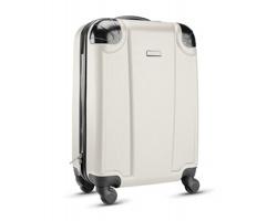 Cestovní taška FIBREOUS na kolečkách - béžová