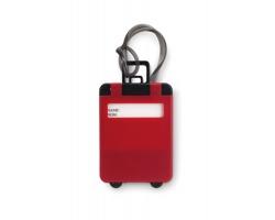 Jmenovka na zavazadla VENIT - červená