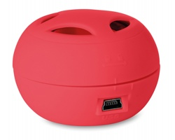 Mini reproduktor BRUCETON - červená