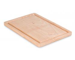 Dřevěné krájecí prkénko CAFÉ - hnědá (dřevo)