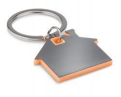 Nerezový přívěsek na klíče HACIENDOS - oranžová