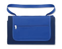 Fleeceová pikniková deka SLUBS - modrá