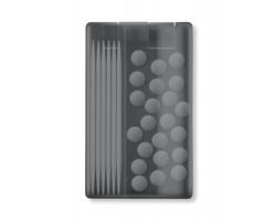 Dávkovač mentolek a párátek SHEAD - transparentní šedá
