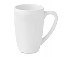 Keramický hrnek na čaj ENATE, 300ml - bílá
