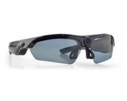 Sluneční brýle s kamerou BOWER v pevném pouzdru - černá