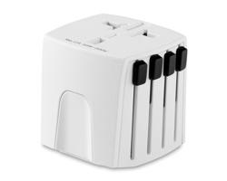 Univerzální cestovní adaptér ARRAY - bílá