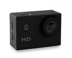 Sportovní HD fotoaparát MOVOS s voděodolným pouzdrem - černá