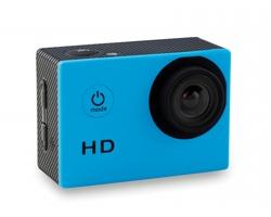 Sportovní HD fotoaparát MOVOS s voděodolným pouzdrem - tyrkysová