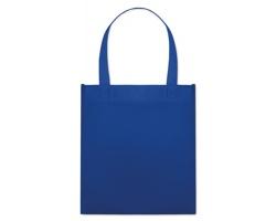 Netkaná nákupní taška BLOTTED s krátkými uchy - královská modrá