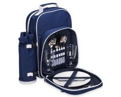Chladicí piknikový batoh HONES pro 2 osoby - modrá