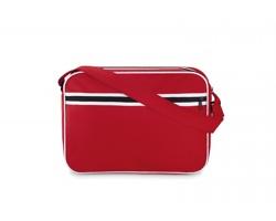 Taška na dokumenty RETY s nastavitelným ramenním popruhem - červená