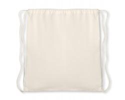 Bavlněný stahovací batoh BUNT - béžová