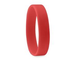 Silikonový náramek SHELL - červená