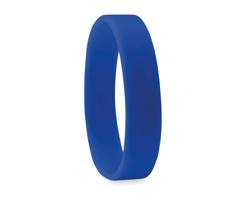 Silikonový náramek SHELL - modrá