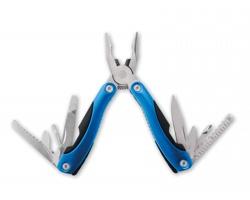 Nerezový multifunkční nástroj CODE, 9 funkcí - modrá