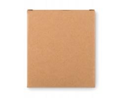 Sada barevných kříd ARMINDA v papírové krabičce, 4 křídy - béžová