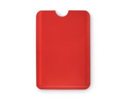 Plastové pouzdro na karty SPRAYER s RFID ochranou - červená