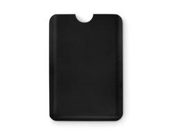 Plastové pouzdro na karty SPRAYER s RFID ochrannou - černá