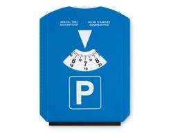 Plastové parkovací hodiny PAWLS se škrabkou na zamrzlá okna - modrá