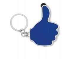 Přívěsek na klíče palec nahoru INDUS, 2 funkce - královská modrá