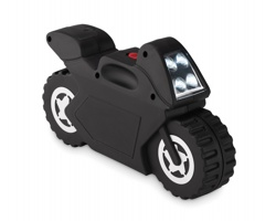 Sada nářadí BIKES v pouzdru tvaru motocyklu, 21 dílů - černá