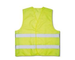 Bezpečností vesta PASKAL s reflexními pásky - žlutá