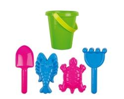 Dětský plážový set CARNY s 5 doplňky - vícebarevná