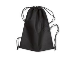 Netkaná taška DUSTY - černá
