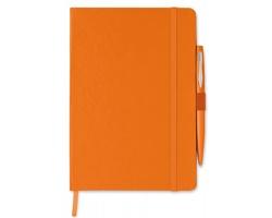 Zápisník REITA s perem, formát A5 - oranžová