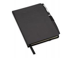 Zápisník MURRAY, A6 s kuličkovým perem - černá