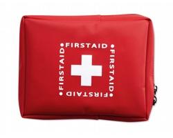 Sada první pomoci JANELLA v pouzdru - červená