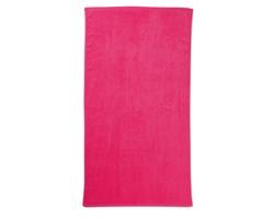 Bavlněný plážový ručník RESP - fuchsie