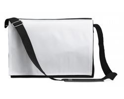 Polyesterová taška přes rameno GERARD na dokumenty - černá
